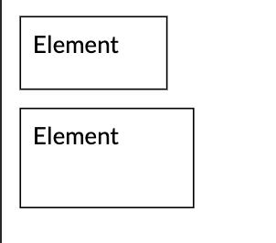 Sus -> border-box, jos -> content-box